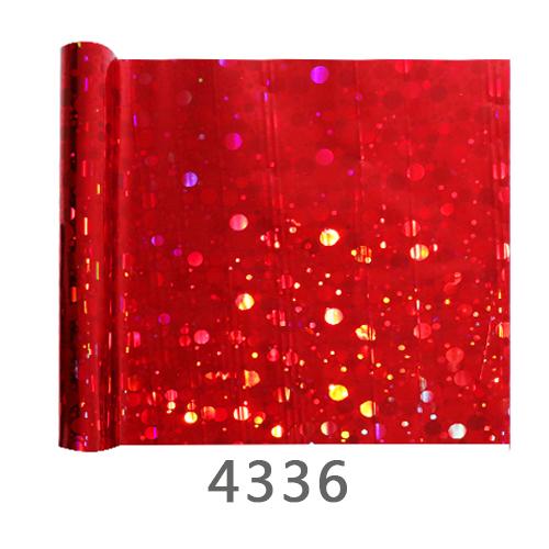 Red Metallic Clothing Transfer Film